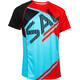 Salming Bold Print Tee Men Light Blue/Orange